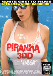 This Isn't Piranha 3DD - It's A XXX Spoof! DVD Cover
