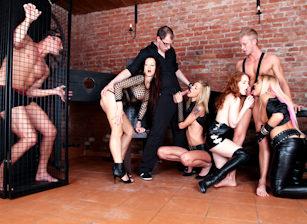 Bachelor Party Orgy #05, Scene #01