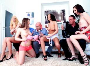 Bachelor Party Orgy #05, Scene #02