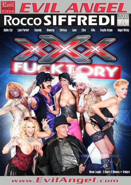 XXX Fucktory - The Parody Italian Style Dvd Cover