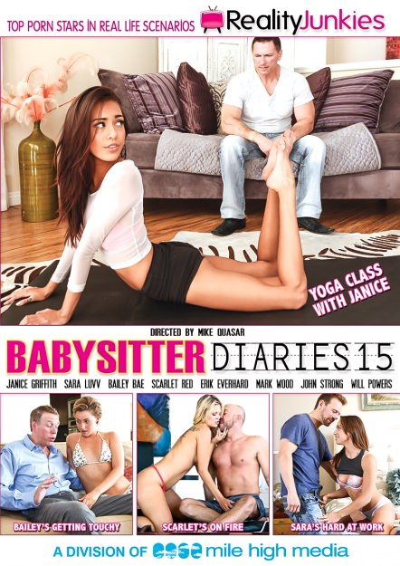 Babysitter Diaries #15 Dvd Cover