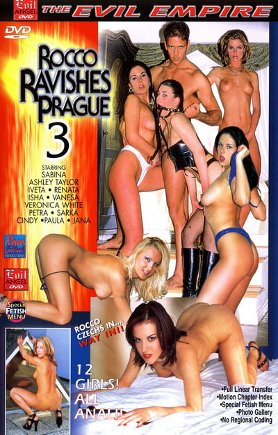 Rocco Ravishes Prague #03 Dvd Cover