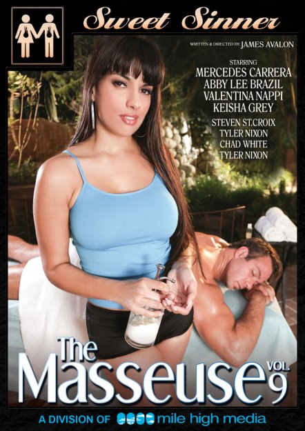 The Masseuse #09 Dvd Cover