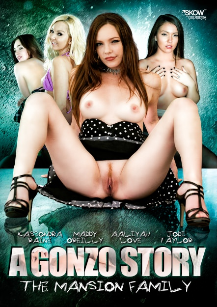 A Gonzo Story: Mansion Family Dvd Cover