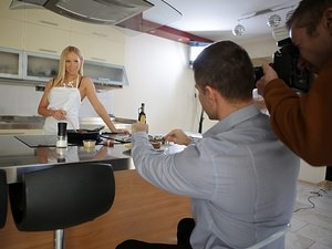Backstage of 'Steak and BJ Day', Scene #01