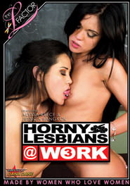 Horny Lesbians At Work #03 DVD Cover