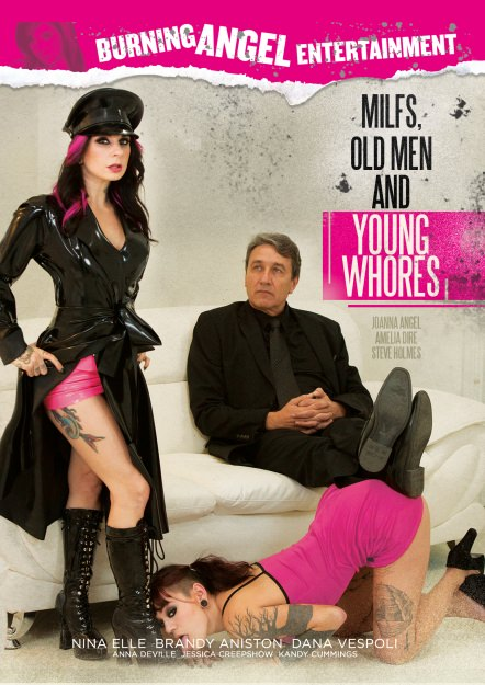 MILFs, Old Men, And Young Whores Dvd Cover