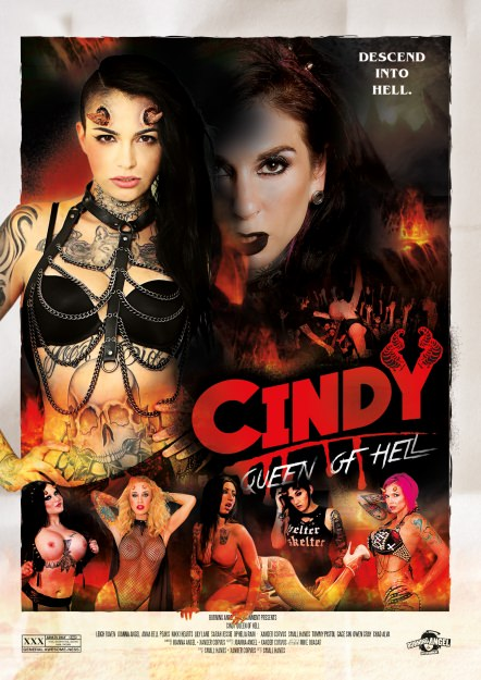 Cindy Queen Of Hell Dvd Cover