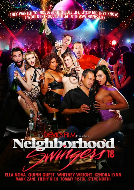 Neighborhood Swingers #18 Dvd Cover