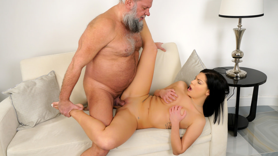 Annie Wolf Likes Old Guys