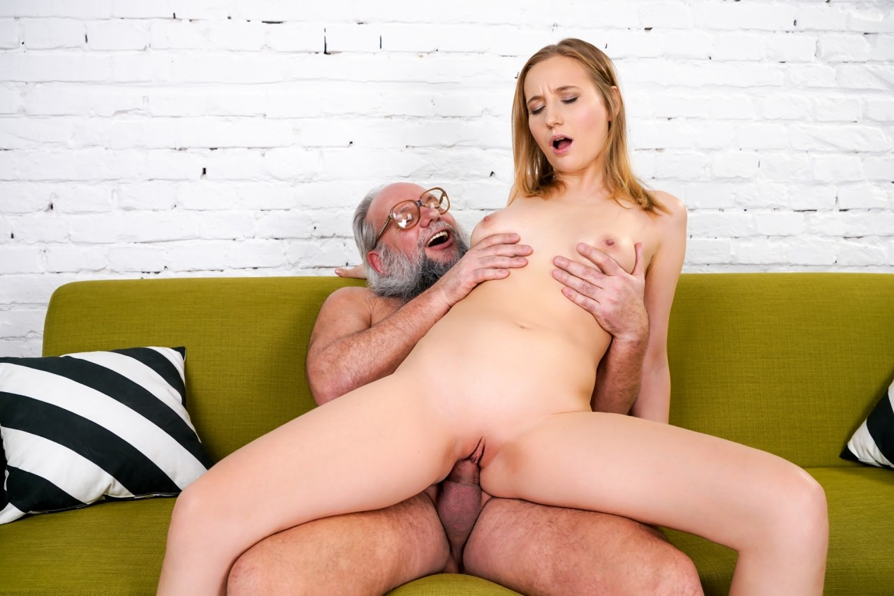 Old men fucking babes