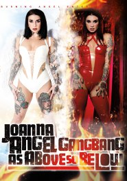 Joanna Angel Gangbang - As Above So Below Dvd Cover