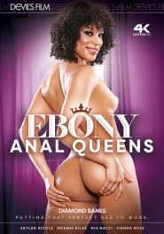 Ebony Anal Queens Dvd Cover
