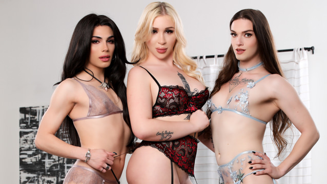 It's A Trans Sandwich (And I'm The Meat!) - Angelina Please, Ariel Demure & Jenna Creed
