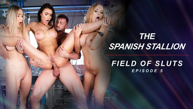 The Spanish Stallion: Field of Sluts - Episode 5