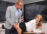 OMG I Fucked My Bratty Student - Khloe Kapri & Clarke Kent