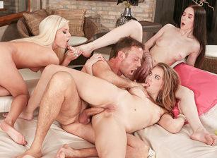 Rocco's 3-Slut Anal & Fetish Fantasy