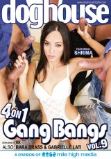 4 on 1 Gang Bangs #09