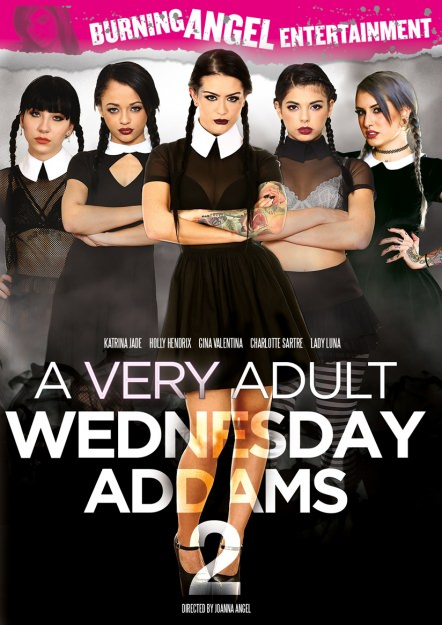 A Very Adult Wednesday Addams 2 Dvd Cover