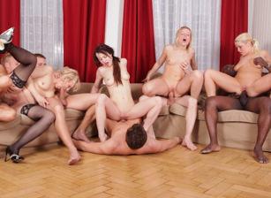 Cock Crazy Orgies #02, Scene #02