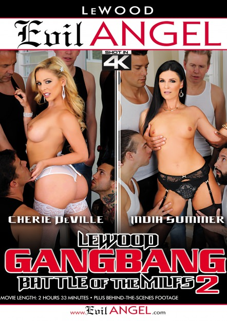 LeWood Gangbang: Battle Of The MILFs #02 Dvd Cover