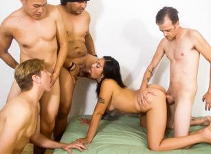 Bi Cuckold Gang Bang #12, Scene #01