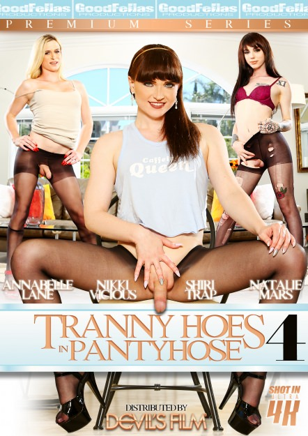 Trans Hoes in Pantyhose #04 Dvd Cover