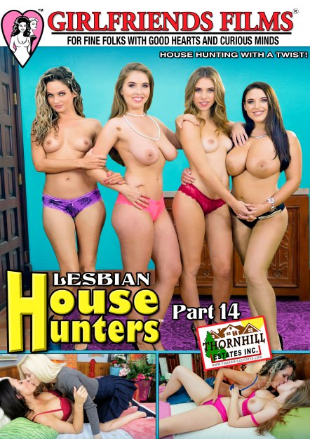 Lesbian House Hunters #14 Dvd Cover