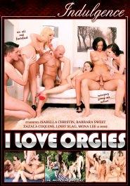 I Love Orgies DVD Cover