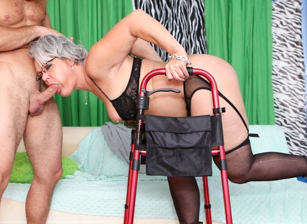 Horny Grannies Love To Fuck #12, Scene #01