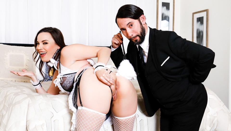 French Anal MILF Maids - Dana DeArmond, Scene #01
