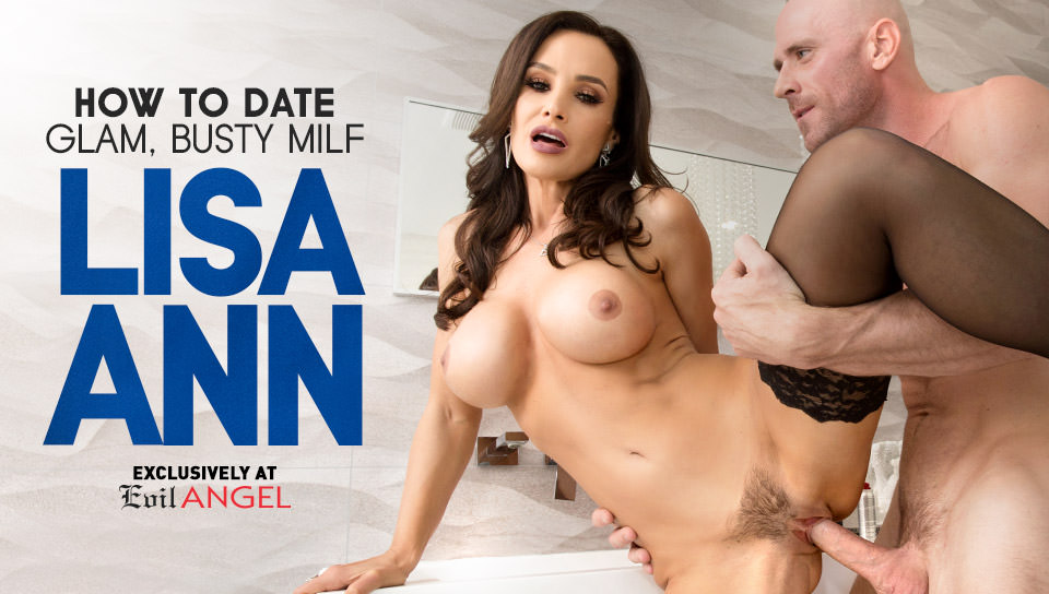 How To Date Glam, Busty MILF Lisa Ann