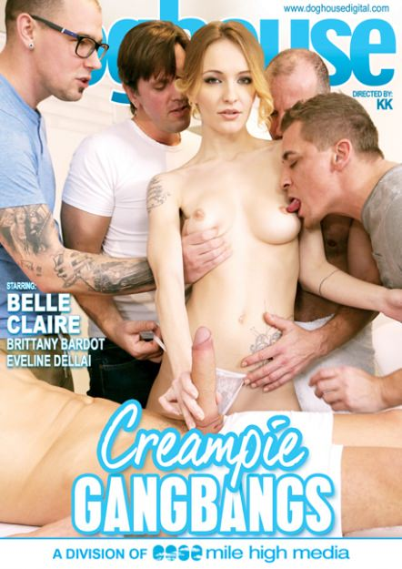 Creampie Gangbangs Dvd Cover