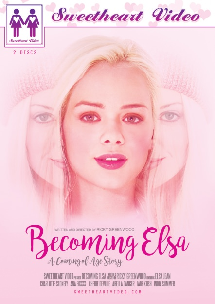 Becoming Elsa Dvd Cover