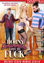 Horny Grannies Love to Fuck #13 Dvd Cover