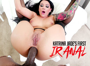Katrina Jade's First Interracial Anal, Scene #01