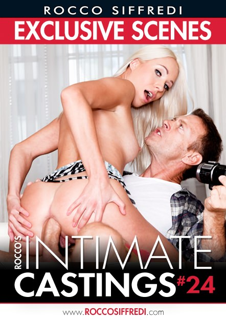 Rocco's Intimate Castings #24 Dvd Cover