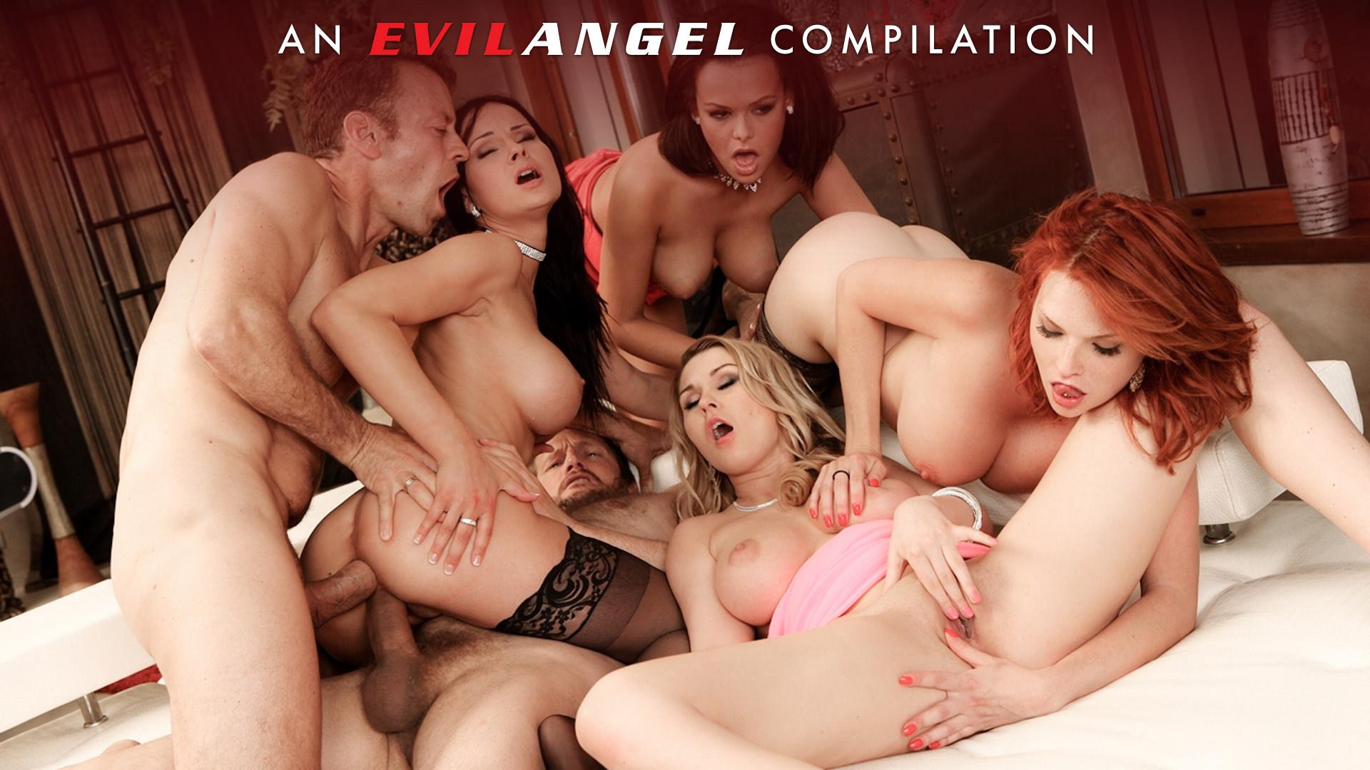 Double Anal Compilation - Rocco Siffredi, Scene #01