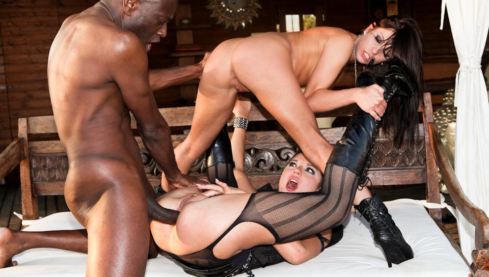 Rocco's Bitches In Uniform-Jessica Rox, Nataly Gold