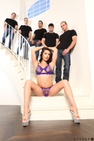 TS Gangbang Auditions - Scene 1 picture 39