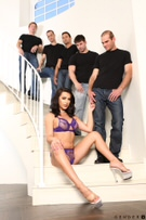 TS Gangbang Auditions - Scene 1 picture 41