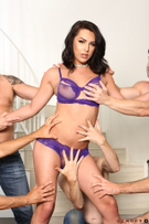 TS Gangbang Auditions - Scene 1 picture 48