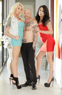 Aubrey Kate, Buck Angel & Chanel Santini Picture