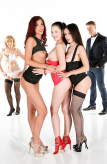 Anie Darling, Sasha Rose, Shona River & Zsu Picture