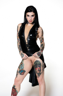 Joanna Angel Gothic Latex Picture